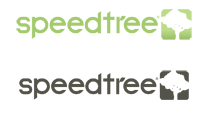 SpeedTree 5 'Wide' Logo