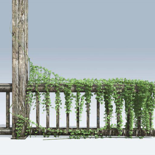 Fence Vine (v6) 1