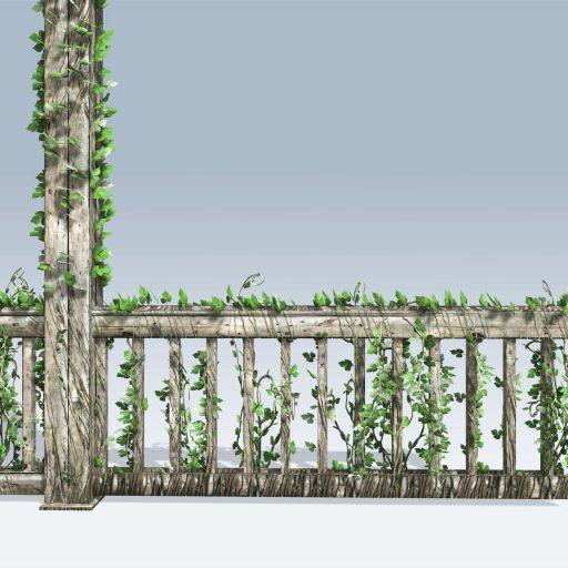 Fence Vine (v6) 2