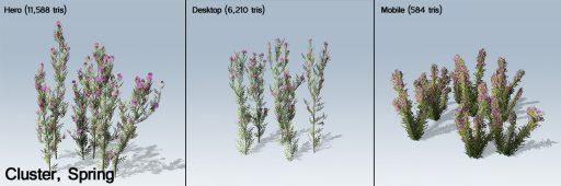 knapweed_Cluster_flower_3panes