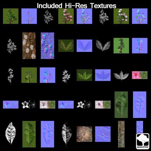 Azalea_textures