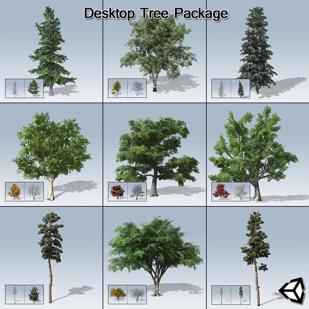 Desktop Tree Package (Unity)
