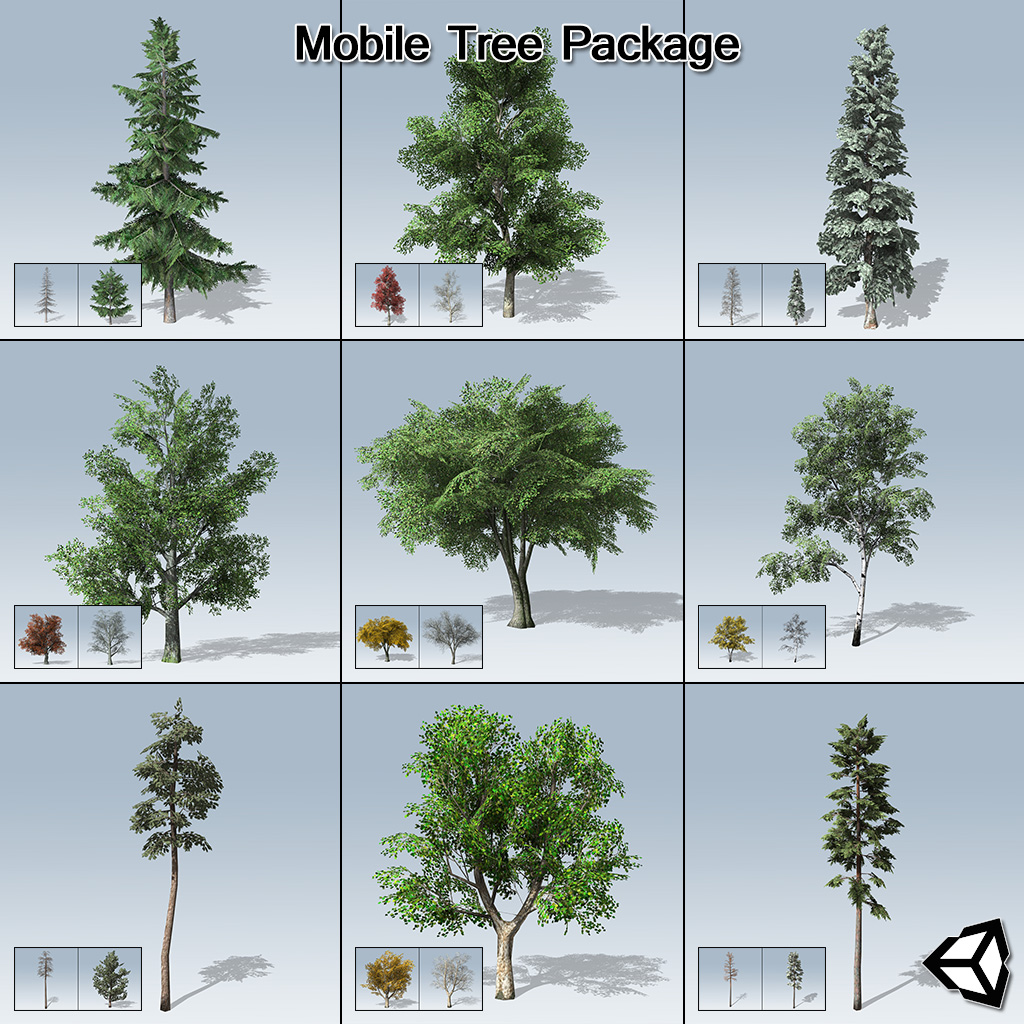 Mobile Tree Package (Unity)