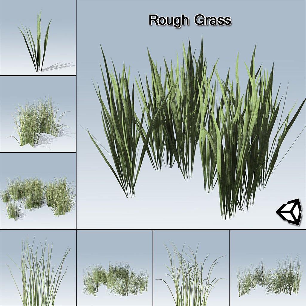 Grass Texture Unity - Free Low Poly Game Asset - 3D Hex Blocks