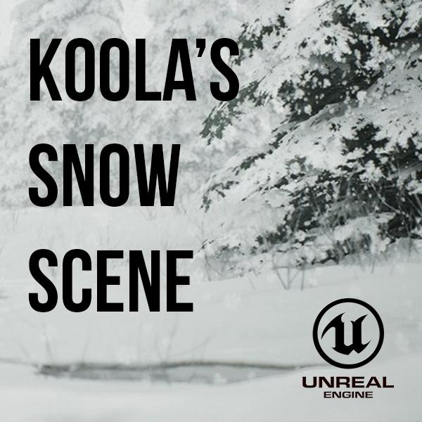 Koola's Snow Example Project (UE4) – SpeedTree