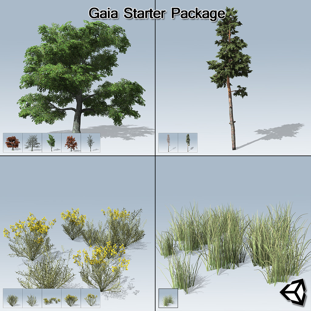 Gaia Starter Package (Unity)