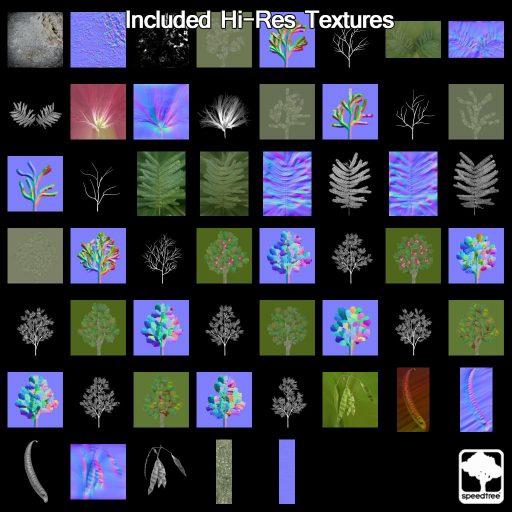 mimosa_textures