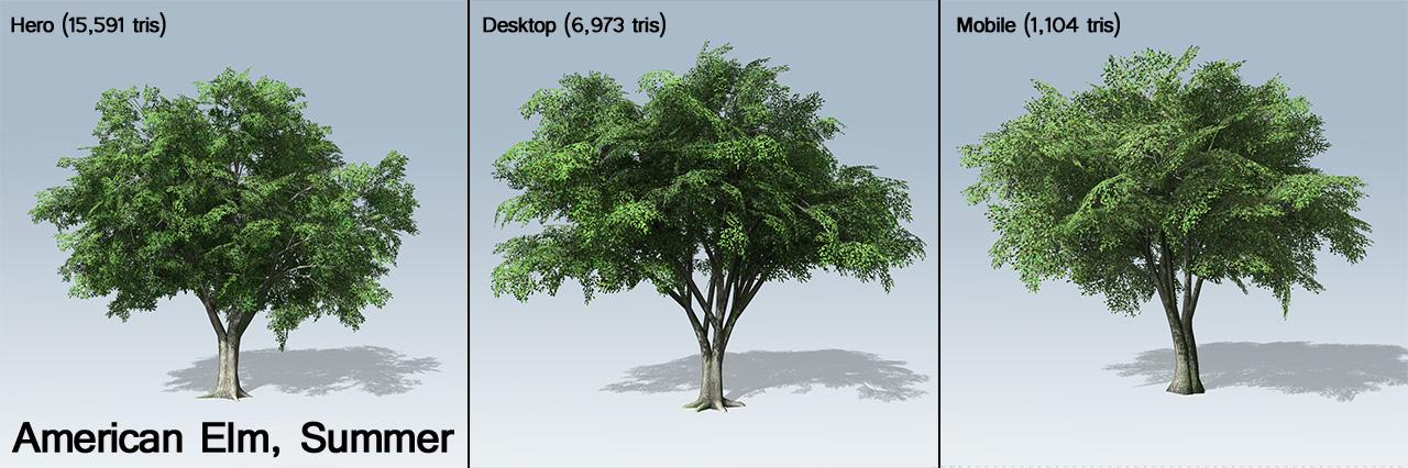 american elm games v7 speedtree