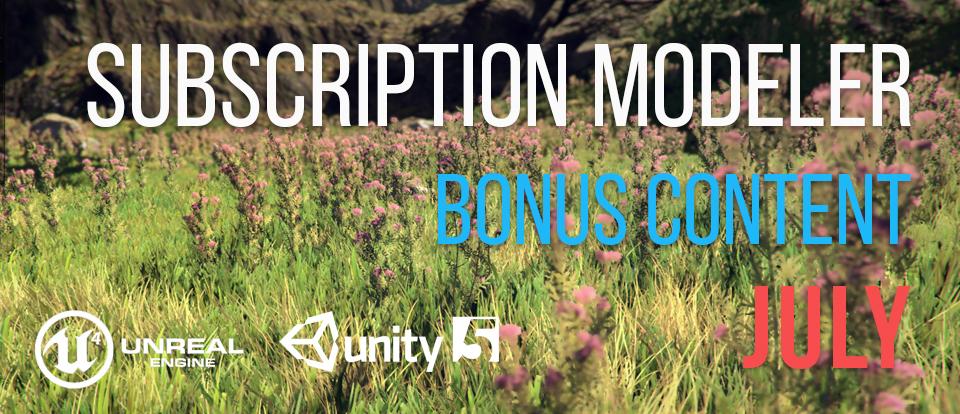 July Bonus Content – SpeedTree
