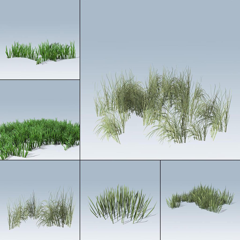 Mobile Grass Package (Games v7)