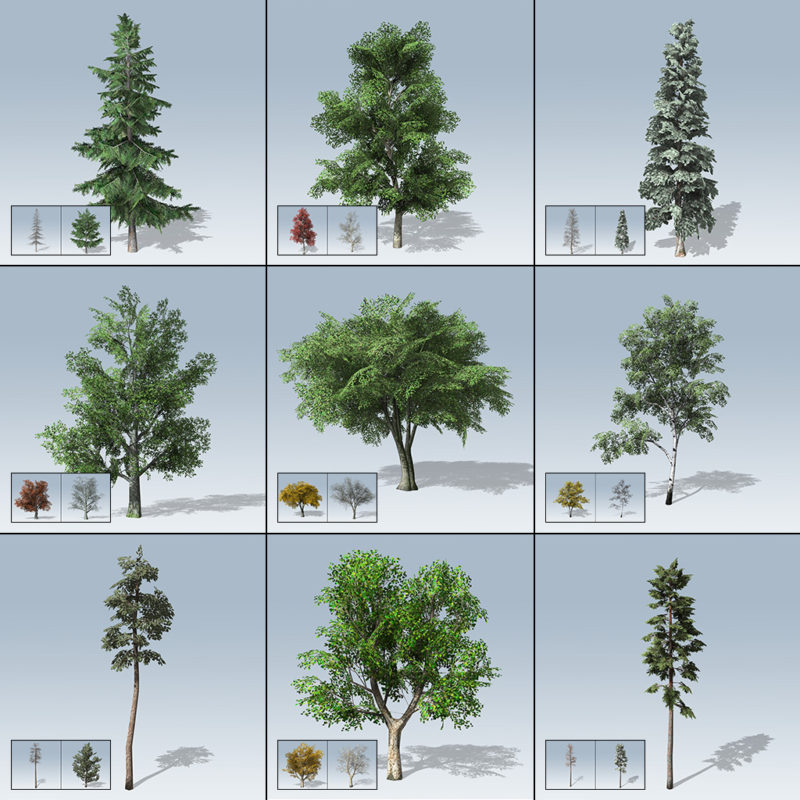 Mobile Tree Package